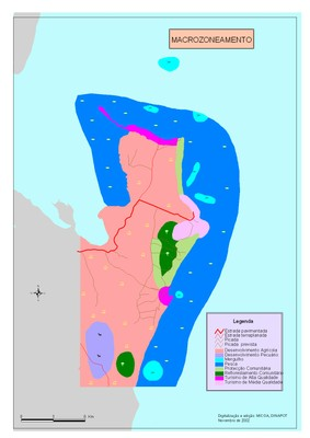 Pomene Land Use Map