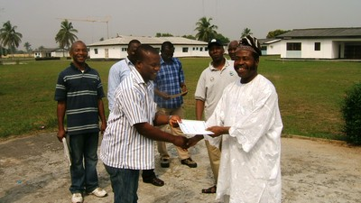Certificate giving, Nigeria Induction training (1).jpg