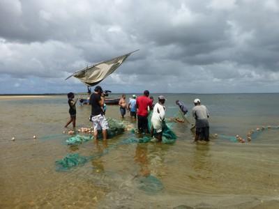 RMRM Team Member Filming Net Fishing.JPG