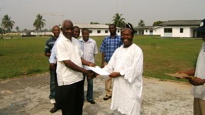 Certificate giving, Nigeria Induction training (3).jpg